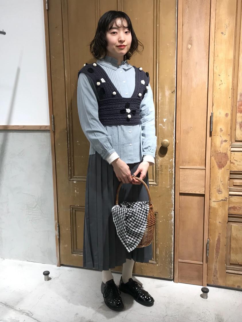 Malle chambre de charme ルミネ新宿 身長:164cm 2021.01.12