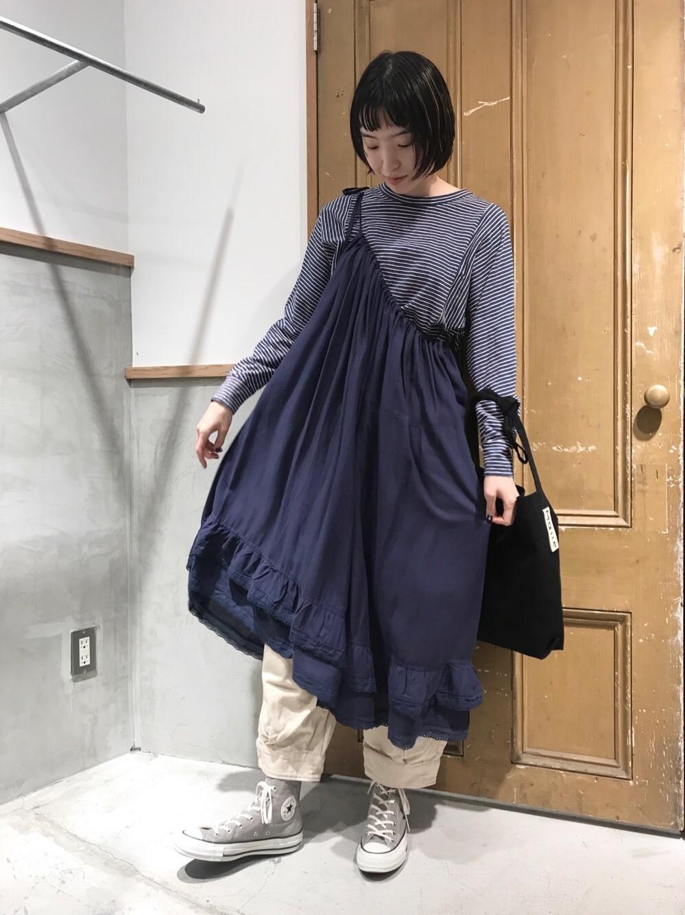 Malle chambre de charme ルミネ新宿 身長:164cm 2020.10.24