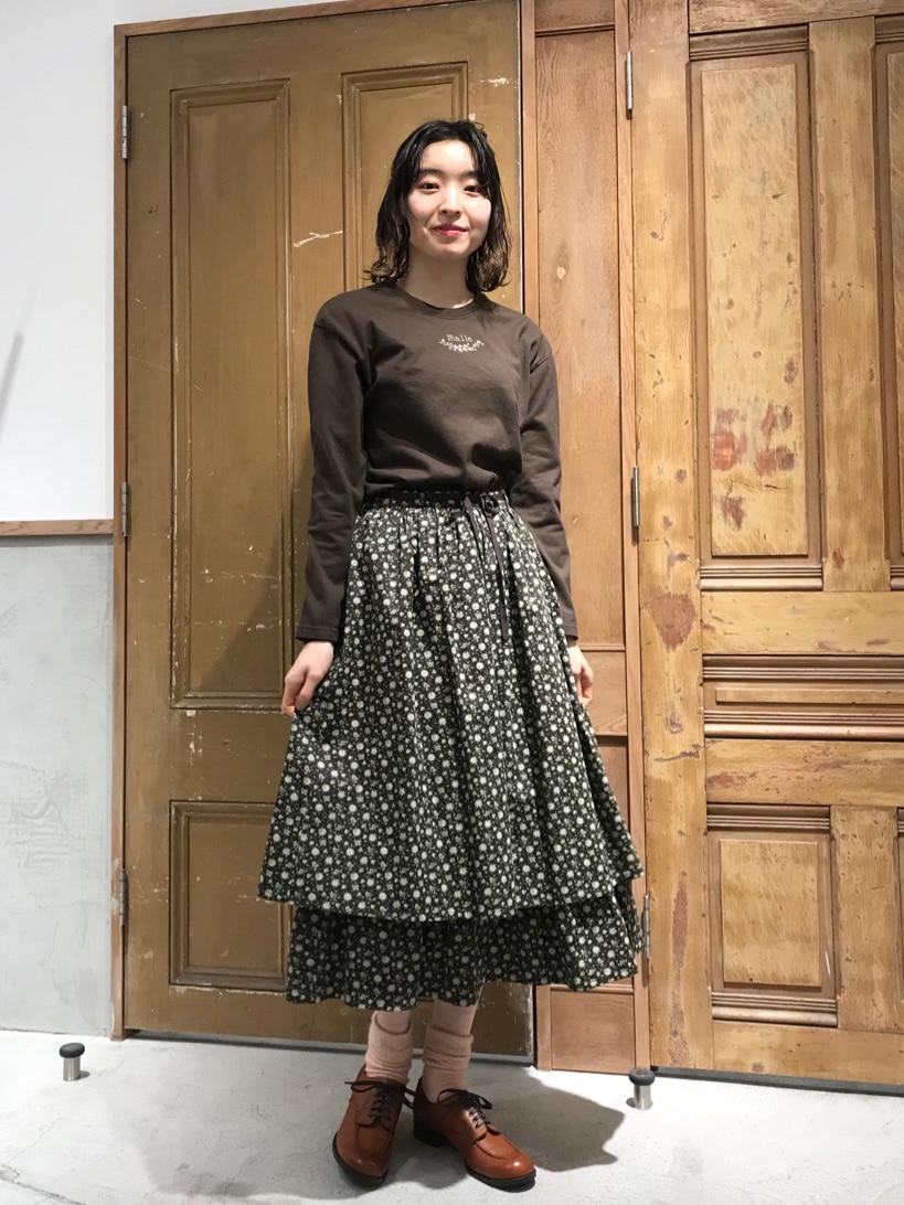 Malle chambre de charme ルミネ新宿 身長:164cm 2021.02.23