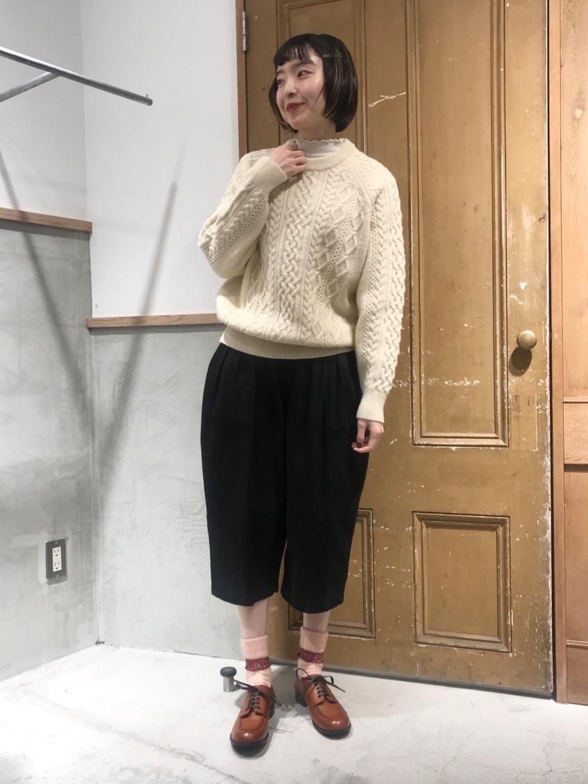 Malle chambre de charme ルミネ新宿 身長:164cm 2020.10.27