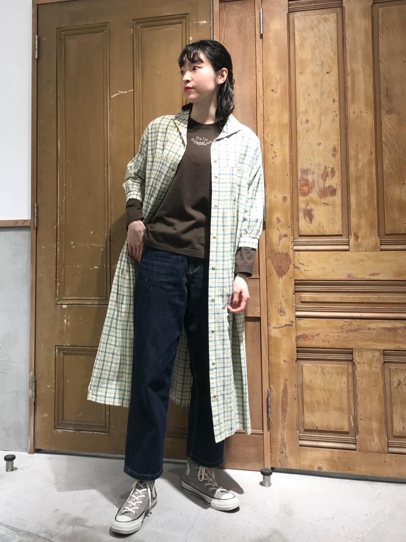 Malle chambre de charme ルミネ新宿 身長:164cm 2021.04.02