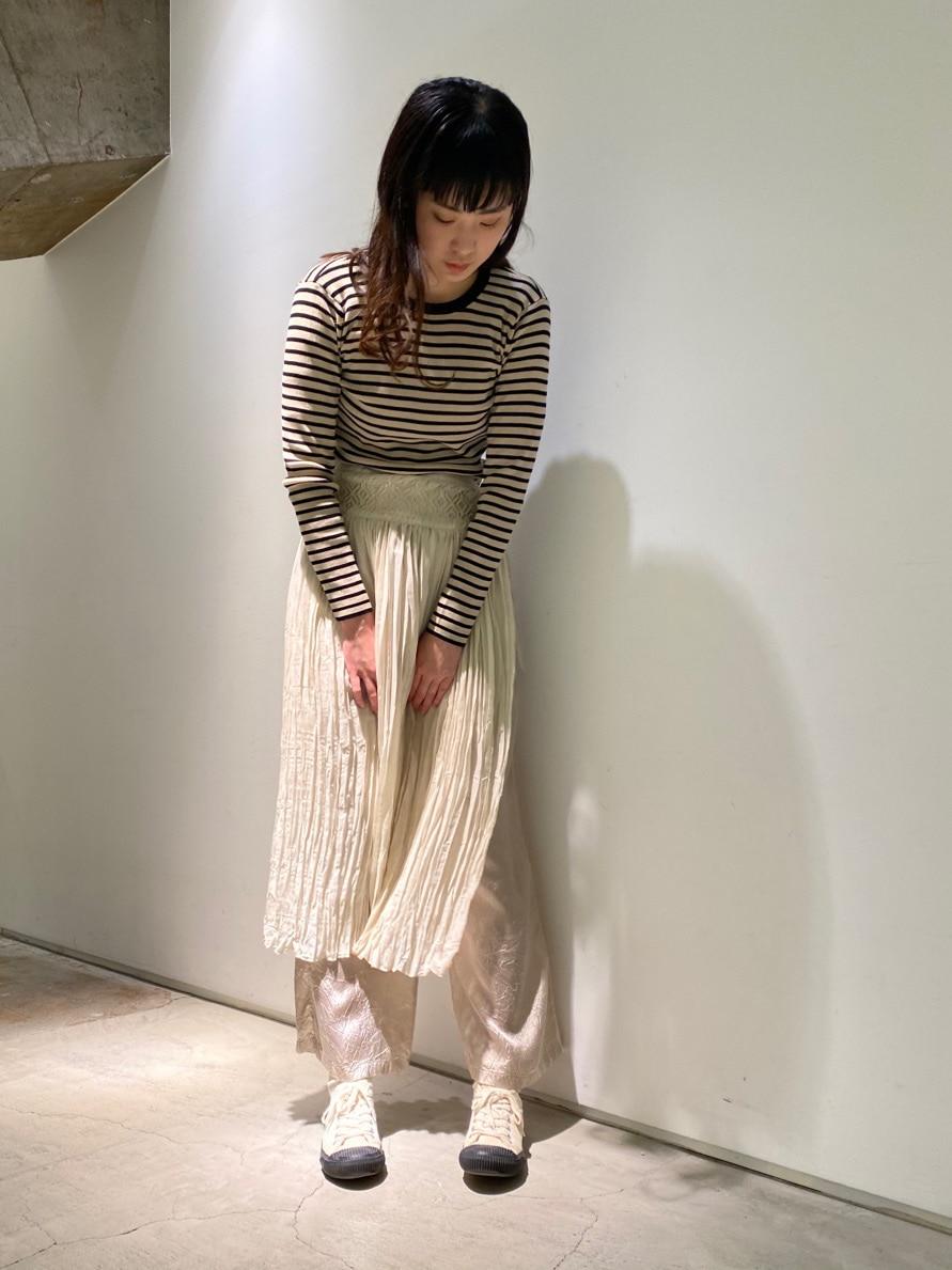note et silence. 横浜ジョイナス 身長:168cm 2021.04.14