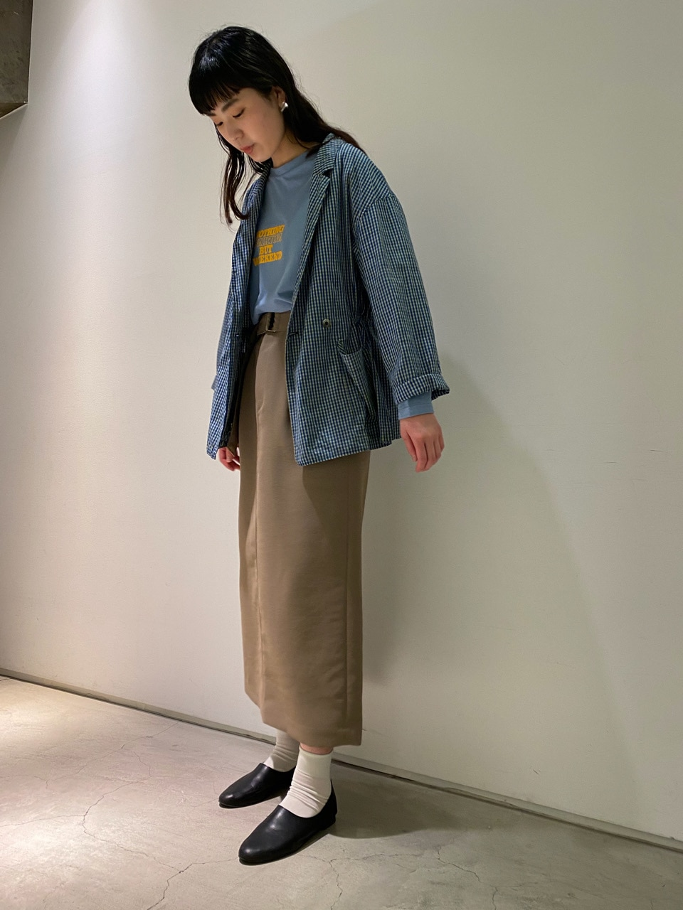 note et silence. 横浜ジョイナス 身長:168cm 2021.04.30