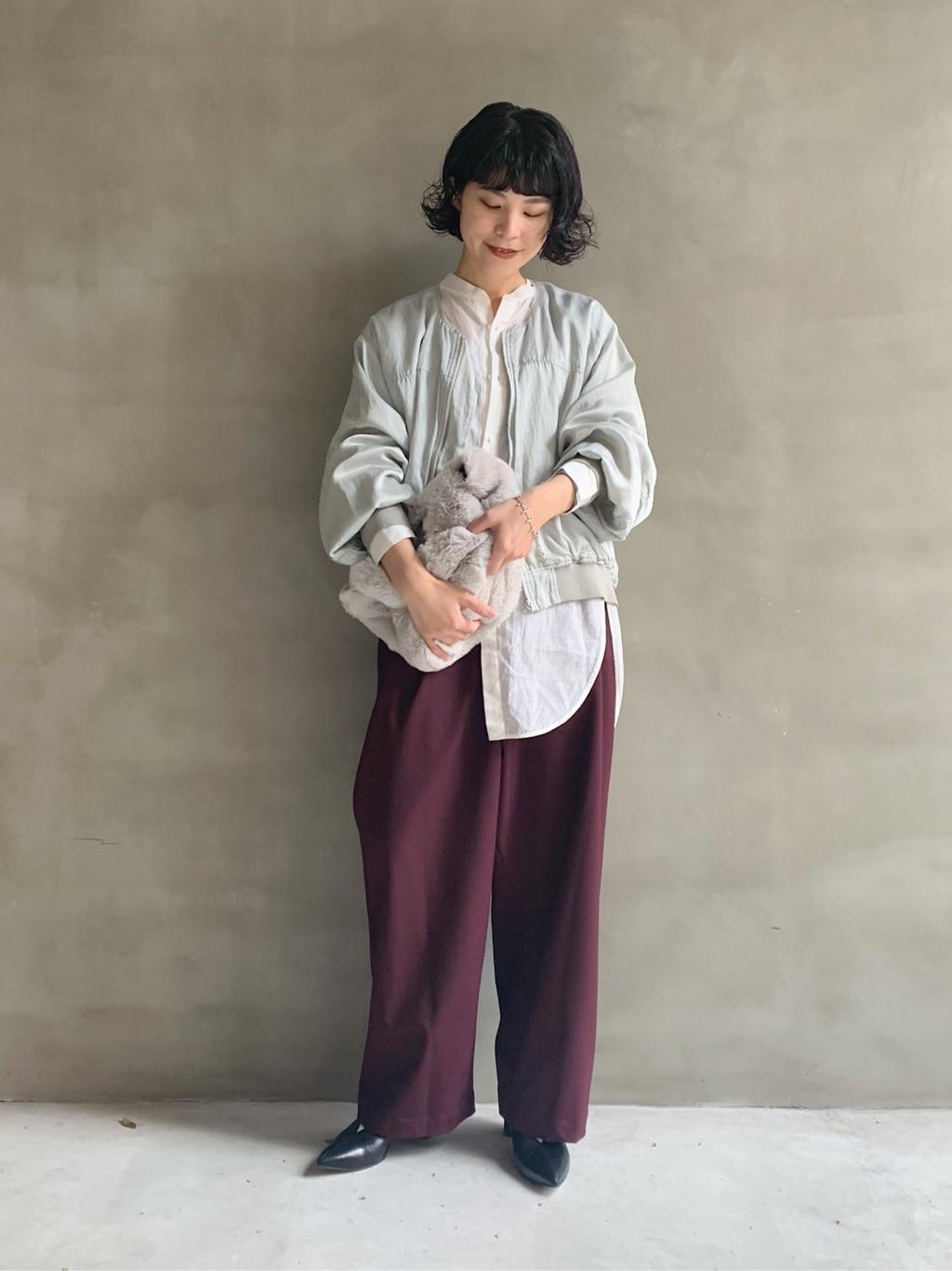 caph troupe 福岡薬院路面 身長:155cm 2020.11.16