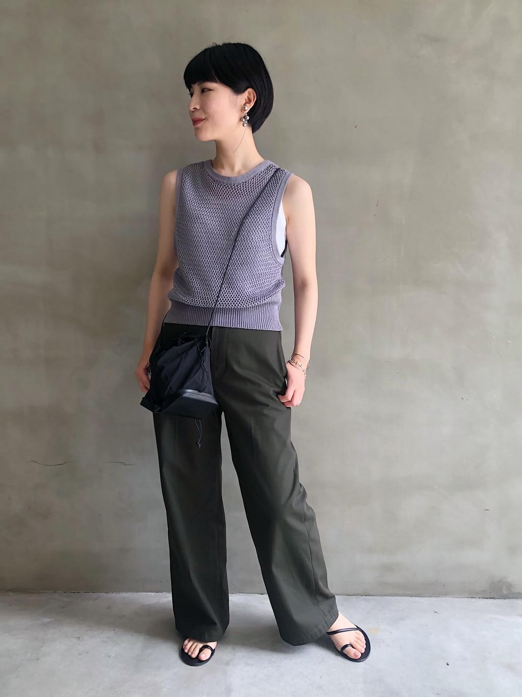 caph troupe 福岡薬院路面 身長:155cm 2020.07.19