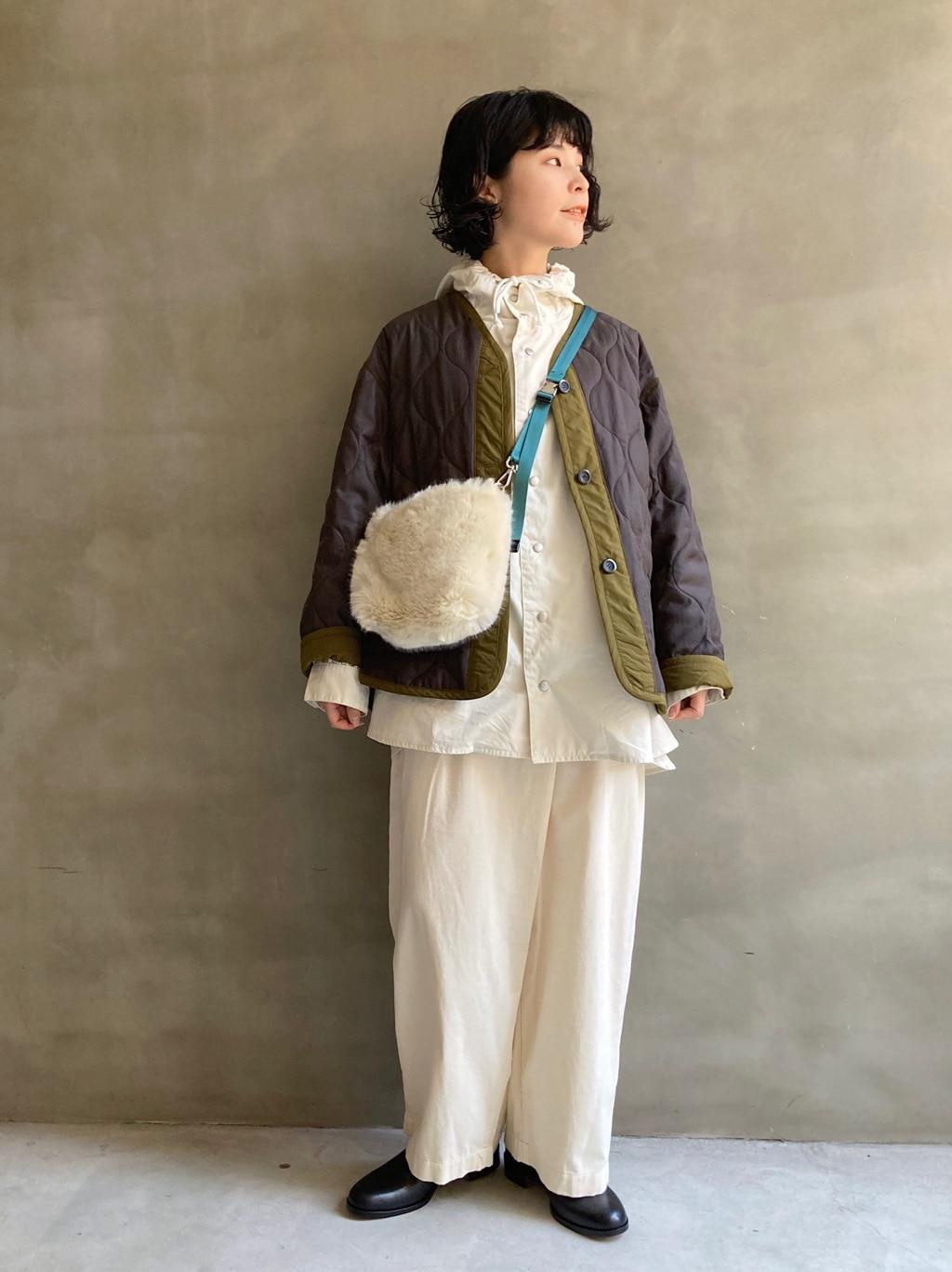 caph troupe 福岡薬院路面 身長:155cm 2020.11.10