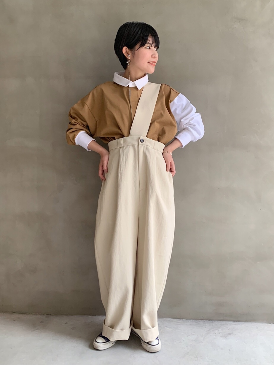 caph troupe 福岡薬院路面 身長:155cm 2020.03.04