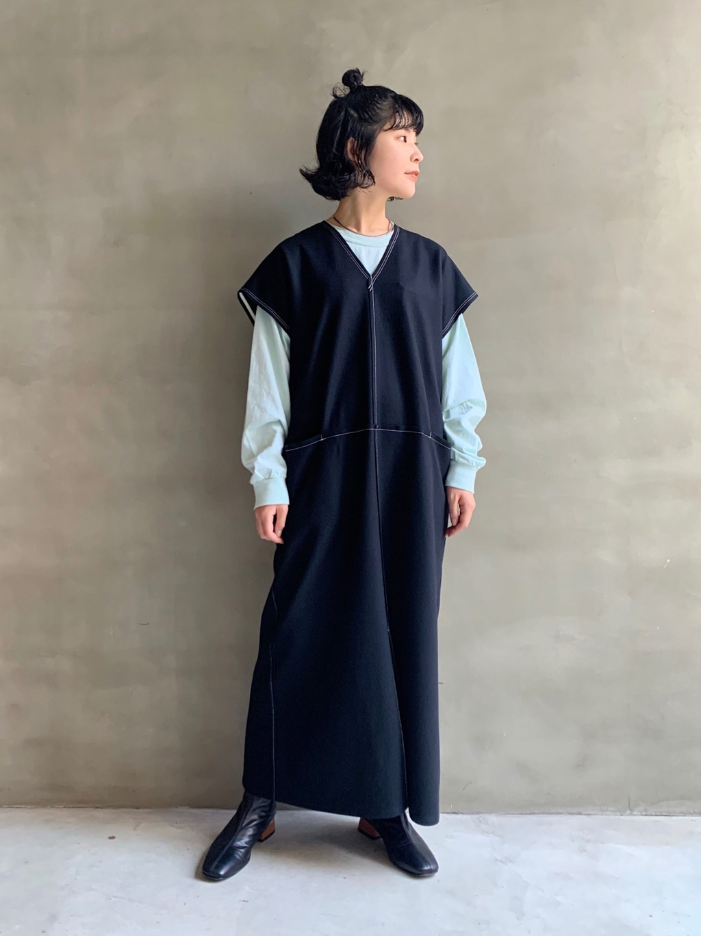 caph troupe 福岡薬院路面 身長:155cm 2020.11.28