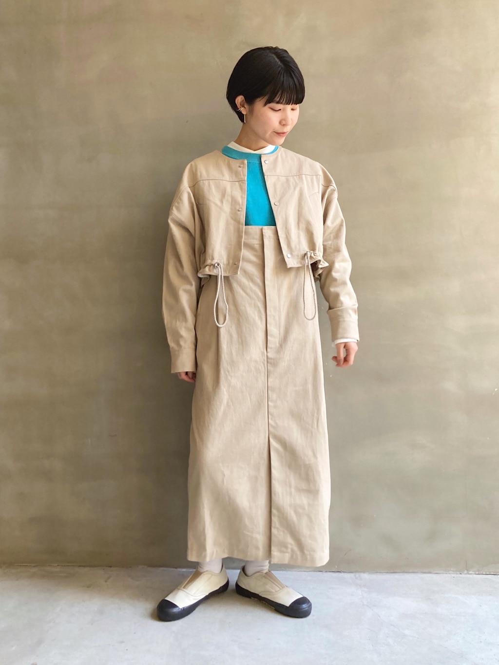 caph troupe 福岡薬院路面 身長:156cm 2021.02.12
