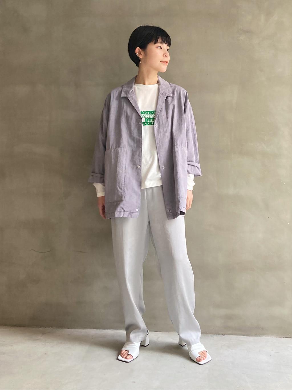 caph troupe 福岡薬院路面 身長:156cm 2021.03.02