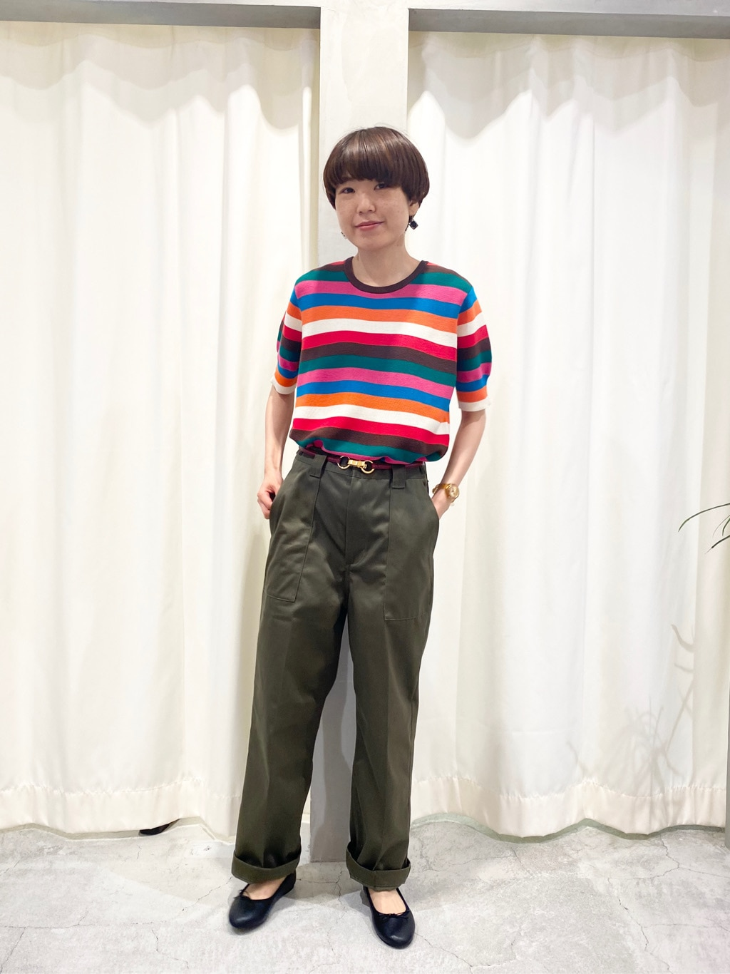 AMB SHOP PAR ICI CHILD WOMAN , PAR ICI ルミネ池袋 身長:161cm 2020.07.09