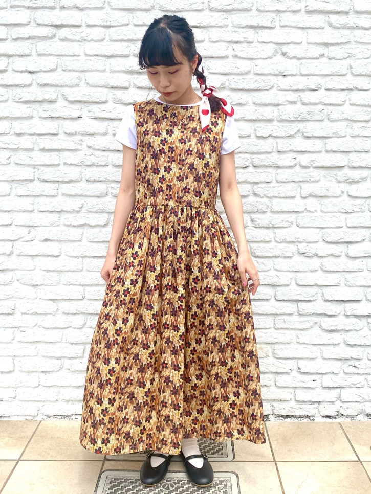 Dot and Stripes CHILD WOMAN 名古屋栄路面 身長:152cm 2021.05.19