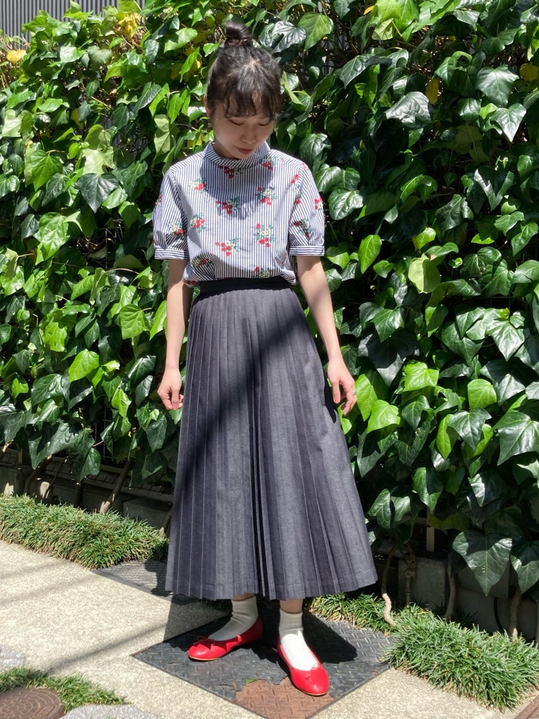 Dot and Stripes CHILD WOMAN 名古屋栄路面 身長:152cm 2021.04.21