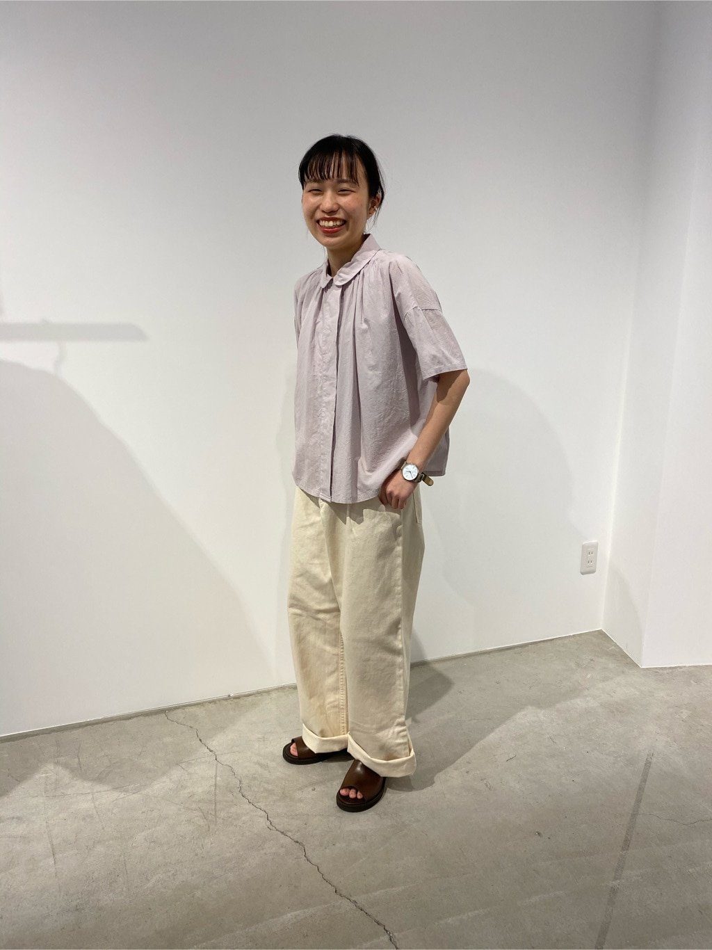 l'atelier du savon 名古屋栄路面 身長:152cm 2020.05.29