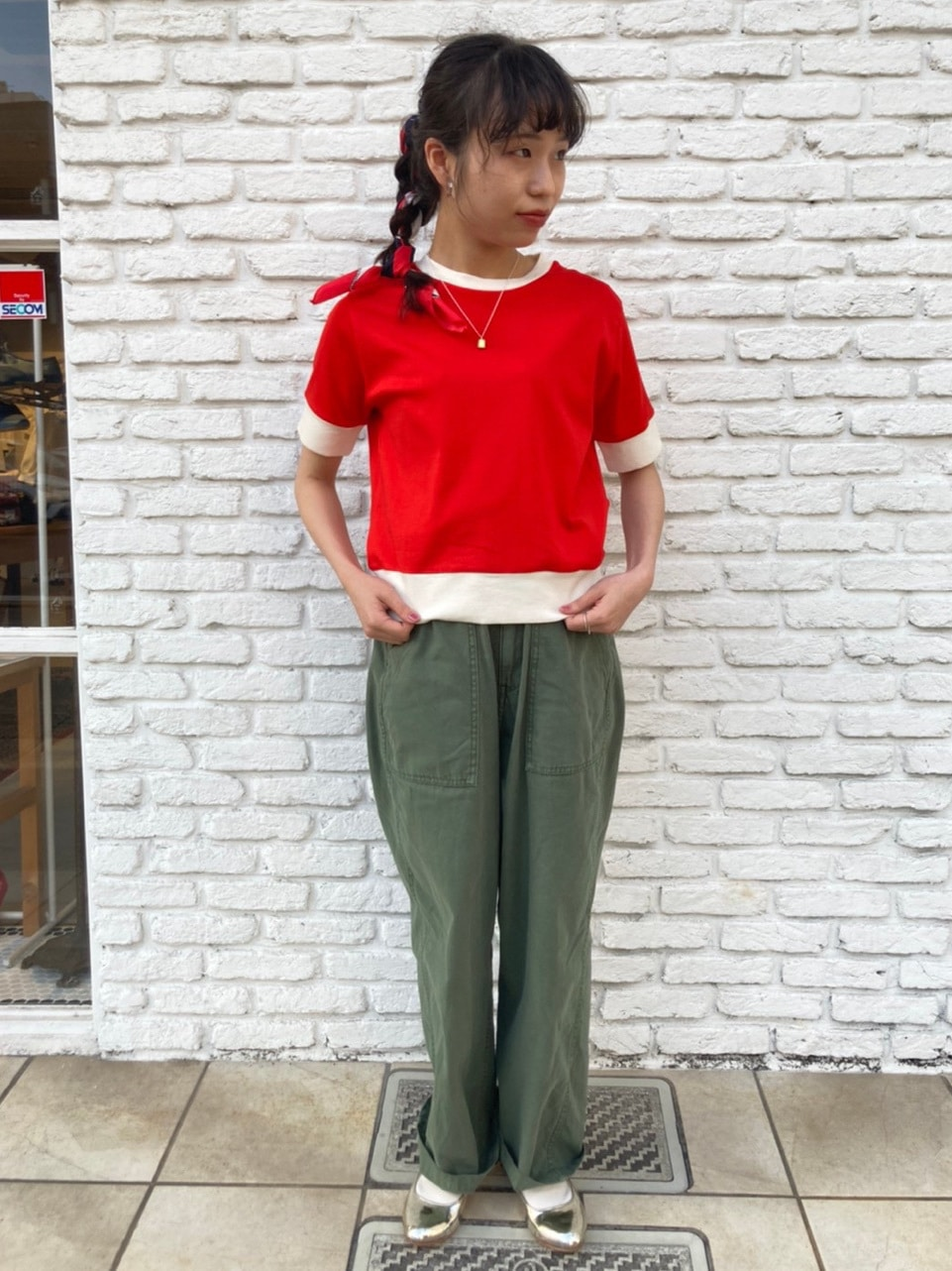 Dot and Stripes CHILD WOMAN 名古屋栄路面 身長:152cm 2021.04.30