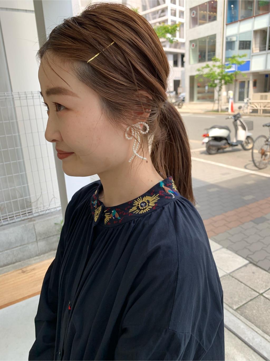 l'atelier du savon 名古屋栄路面 身長:159cm 2020.05.06