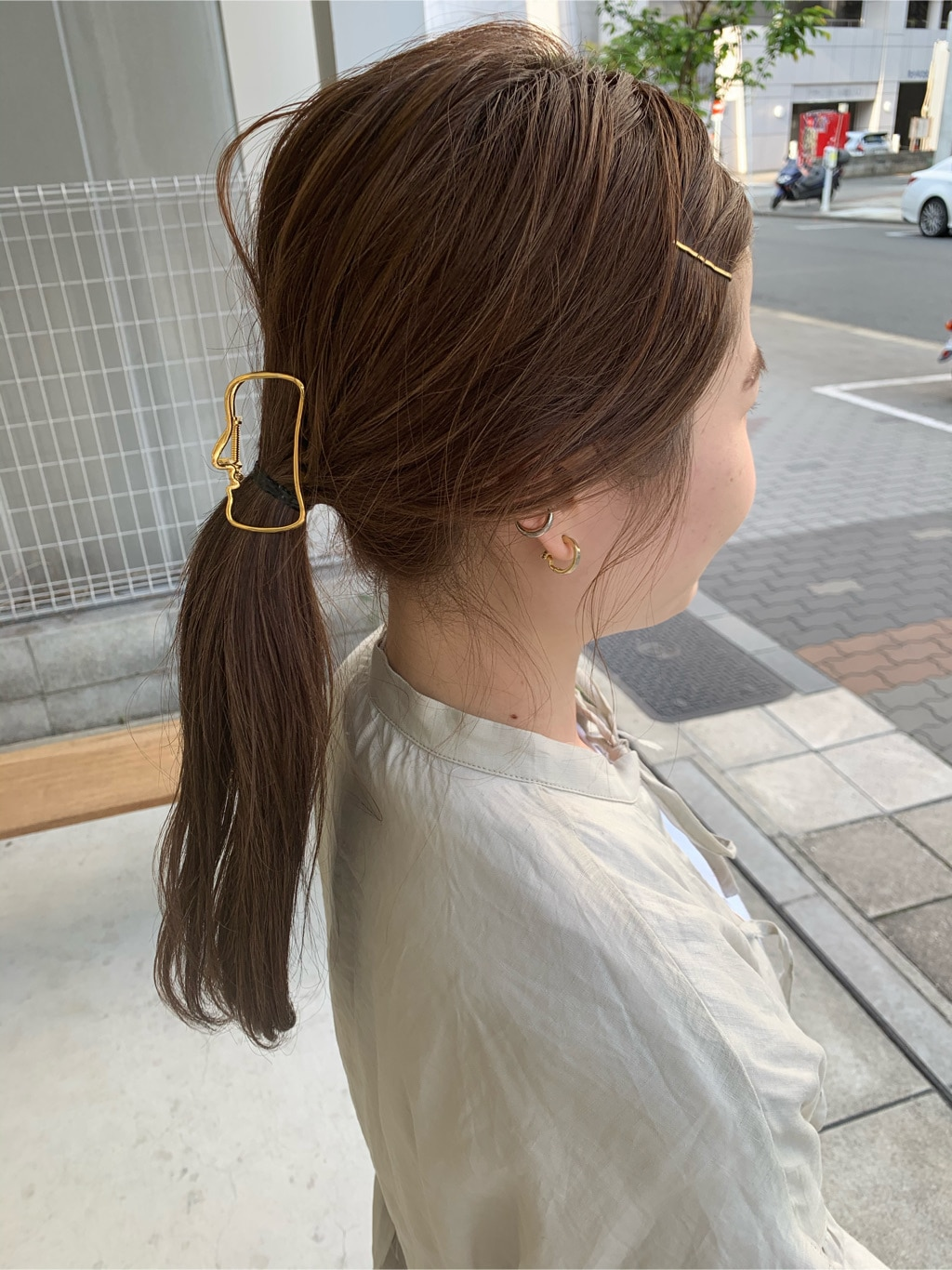 l'atelier du savon 名古屋栄路面 身長:159cm 2020.05.19