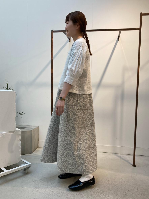 l'atelier du savon 名古屋栄路面 身長:159cm 2021.04.22