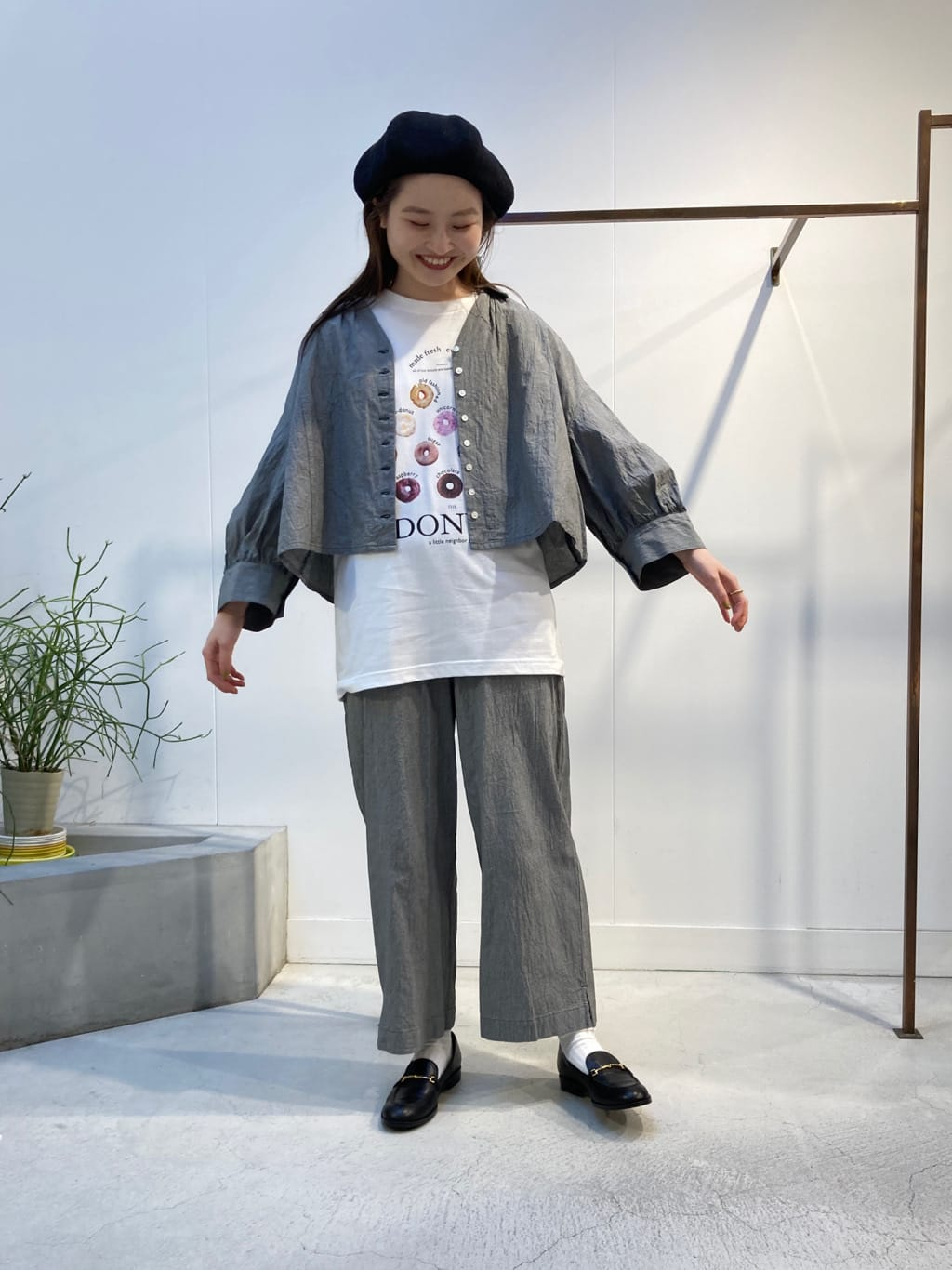 l'atelier du savon 名古屋栄路面 身長:159cm 2021.08.17
