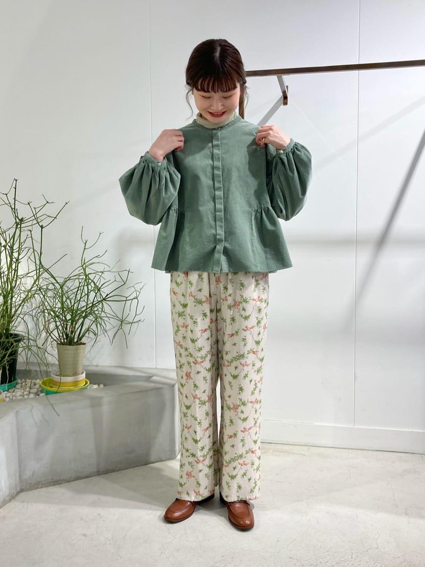 l'atelier du savon 名古屋栄路面 身長:159cm 2021.09.28