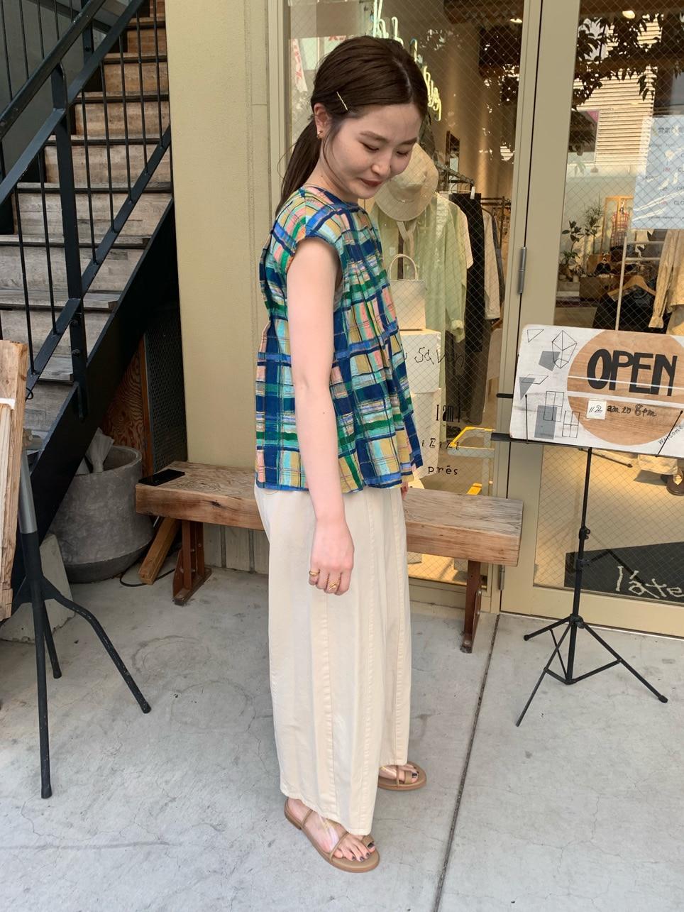 l'atelier du savon 名古屋栄路面 身長:159cm 2020.06.09
