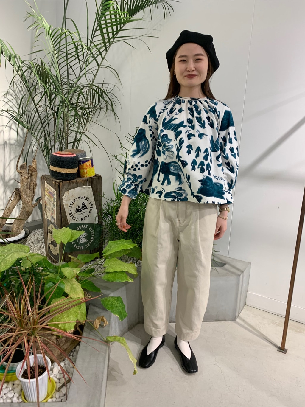 l'atelier du savon 名古屋栄路面 身長:159cm 2020.04.11