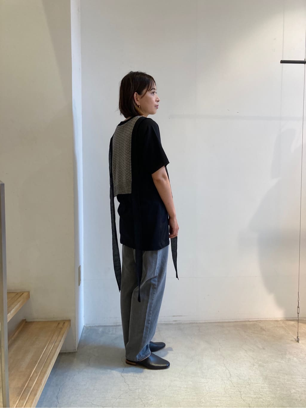 note et silence. 京都路面 身長:161cm 2021.08.23