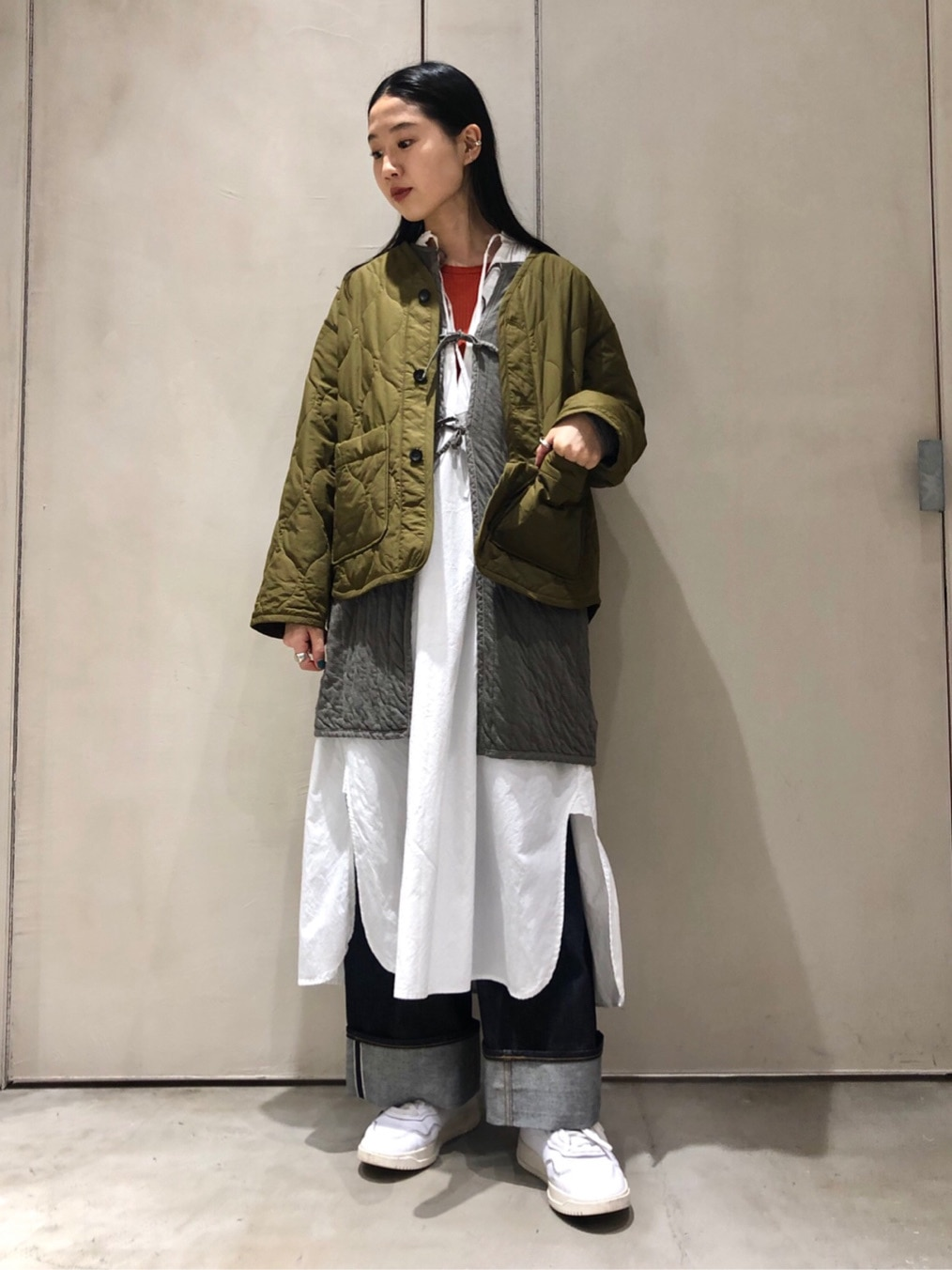 note et silence. ルミネ大宮 身長:165cm 2020.10.20