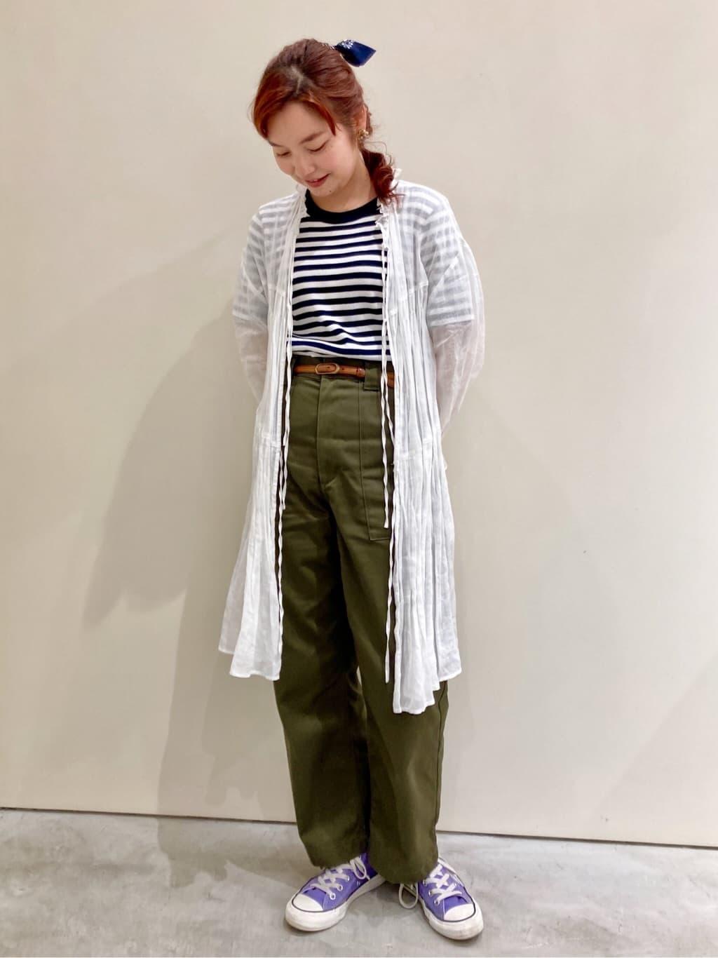 Dot and Stripes CHILD WOMAN CHILD WOMAN , PAR ICI 新宿ミロード 身長:160cm 2021.07.12