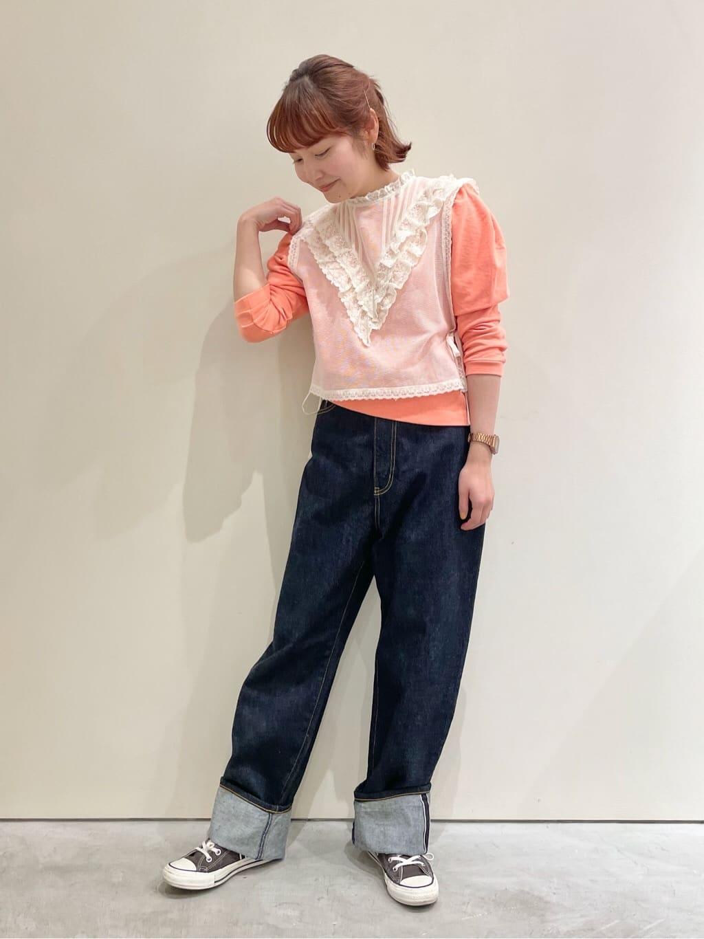 Dot and Stripes CHILD WOMAN CHILD WOMAN , PAR ICI 新宿ミロード 身長:160cm 2021.09.03