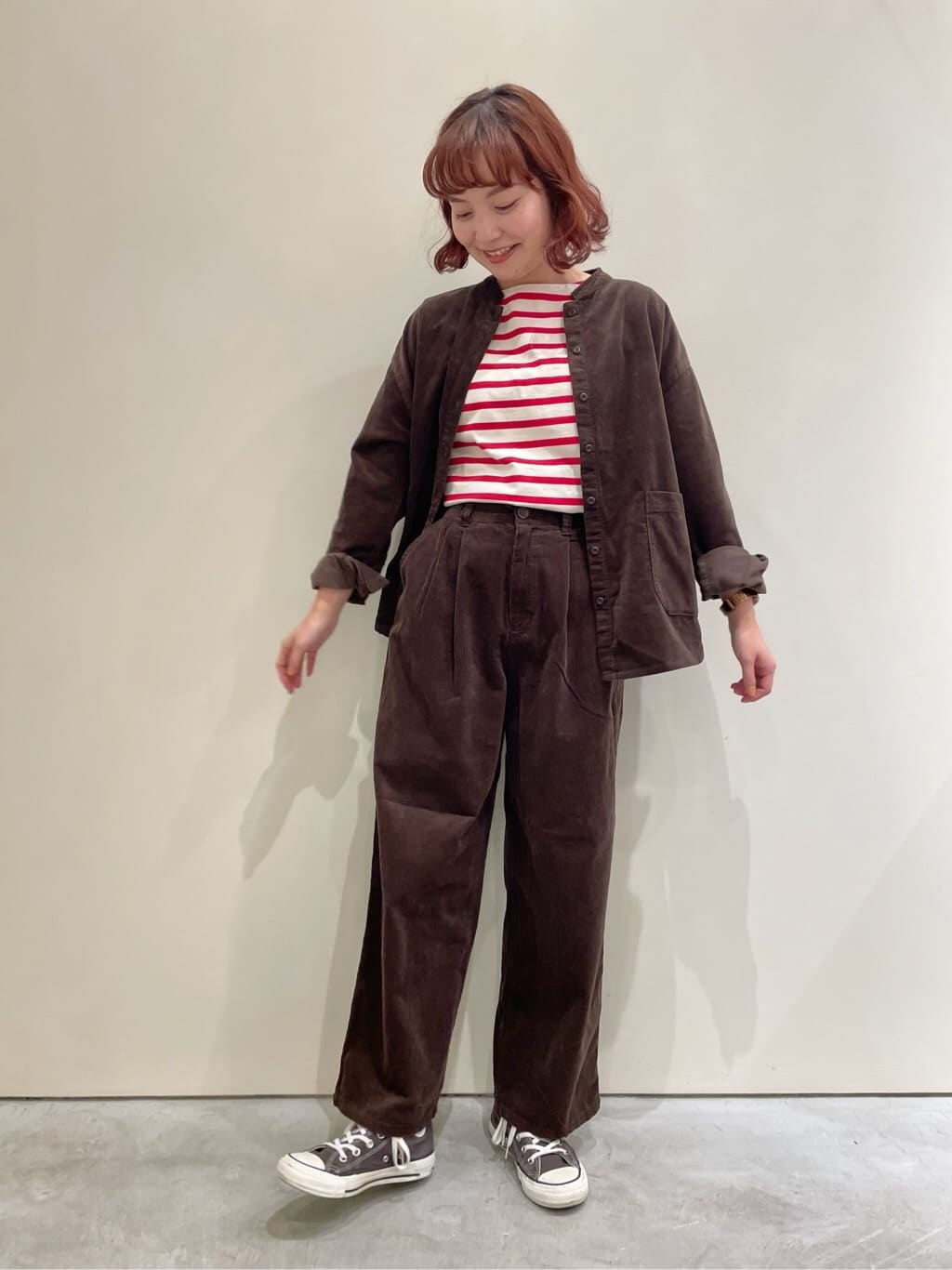 Dot and Stripes CHILD WOMAN CHILD WOMAN , PAR ICI 新宿ミロード 身長:160cm 2021.09.02
