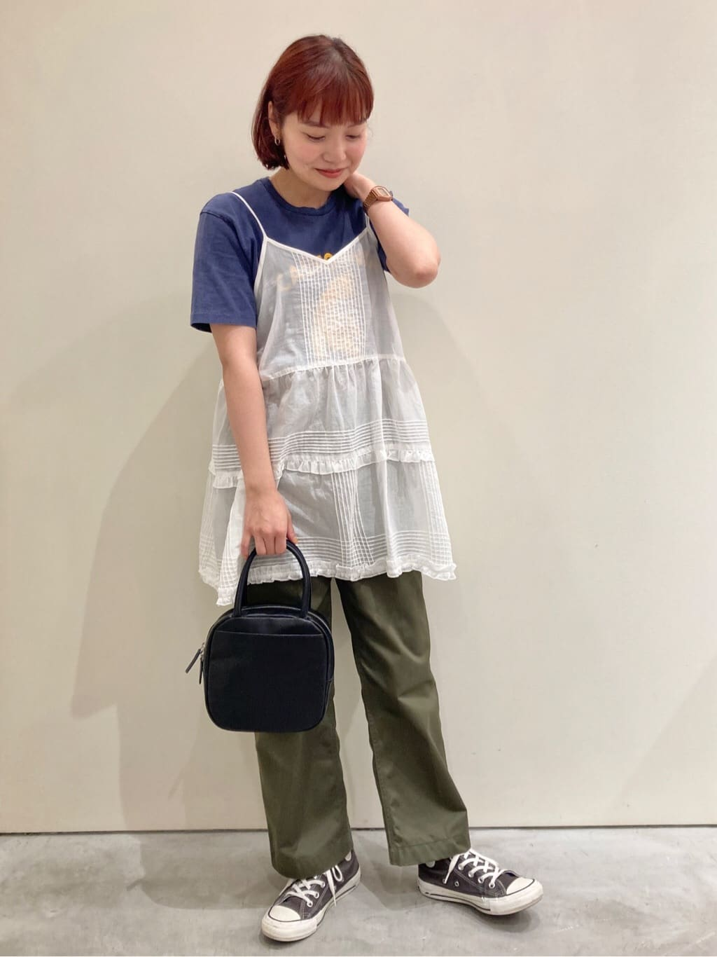 Dot and Stripes CHILD WOMAN CHILD WOMAN , PAR ICI 新宿ミロード 身長:160cm 2021.08.13