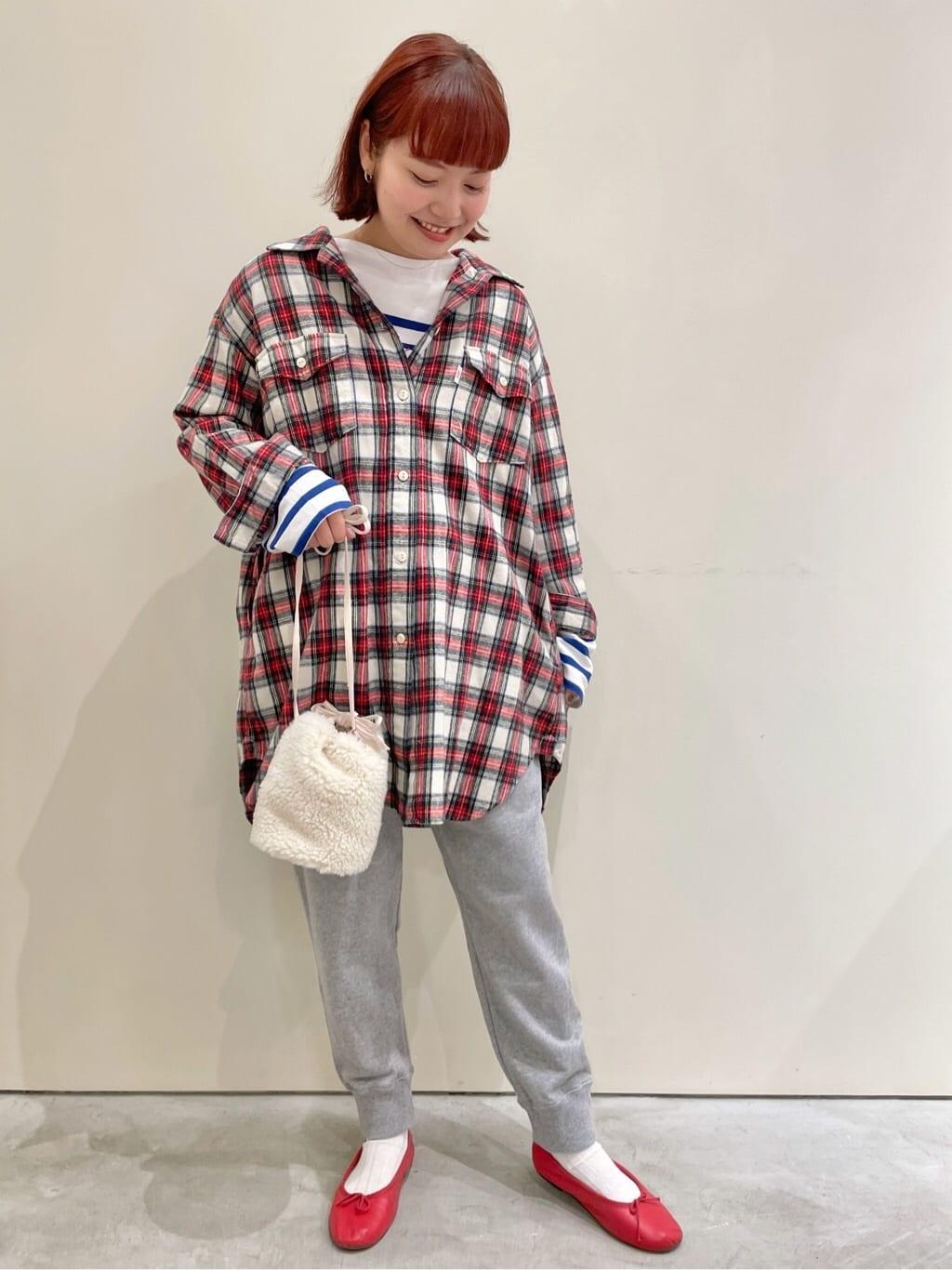Dot and Stripes CHILD WOMAN CHILD WOMAN , PAR ICI 新宿ミロード 身長:160cm 2021.09.12