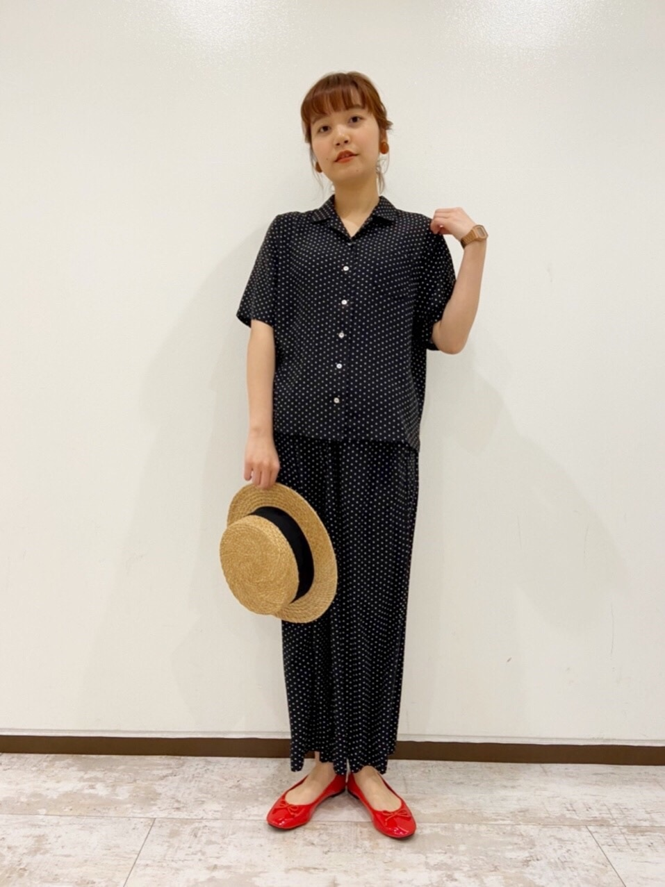 Dot and Stripes CHILD WOMAN 新宿ミロード 身長:160cm 2020.04.04