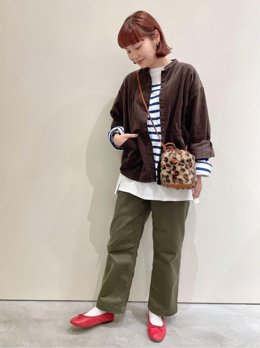 Dot and Stripes CHILD WOMAN CHILD WOMAN , PAR ICI 新宿ミロード 身長:160cm 2021.09.11