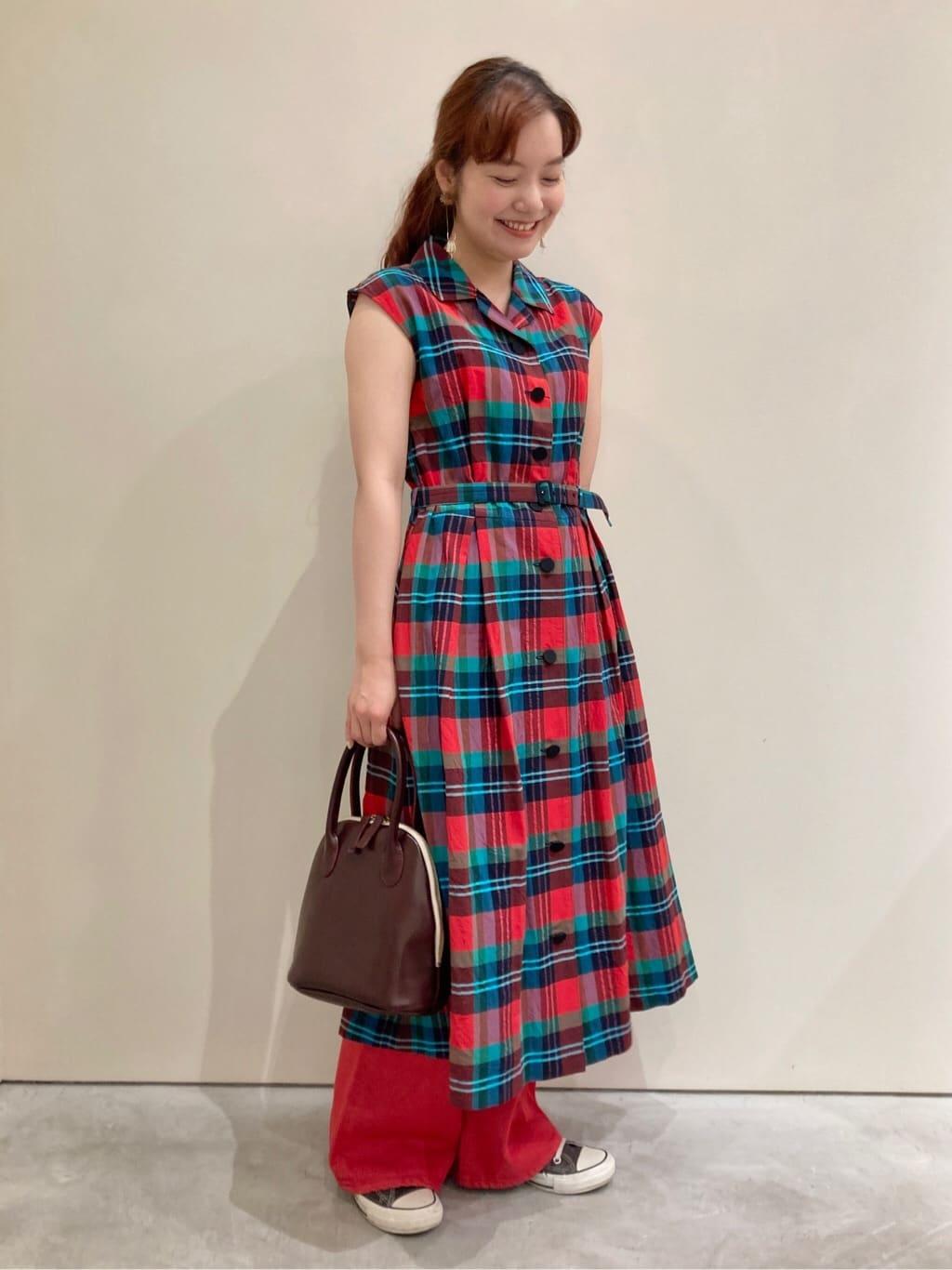 Dot and Stripes CHILD WOMAN CHILD WOMAN , PAR ICI 新宿ミロード 身長:160cm 2021.08.12