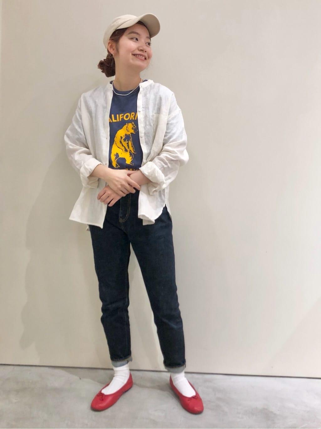 Dot and Stripes CHILD WOMAN CHILD WOMAN , PAR ICI 新宿ミロード 身長:160cm 2021.07.02