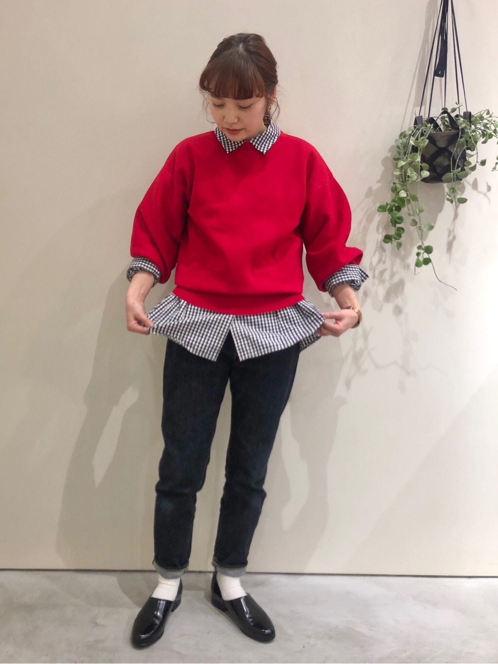 Dot and Stripes CHILD WOMAN CHILD WOMAN , PAR ICI 新宿ミロード 身長:160cm 2021.01.26
