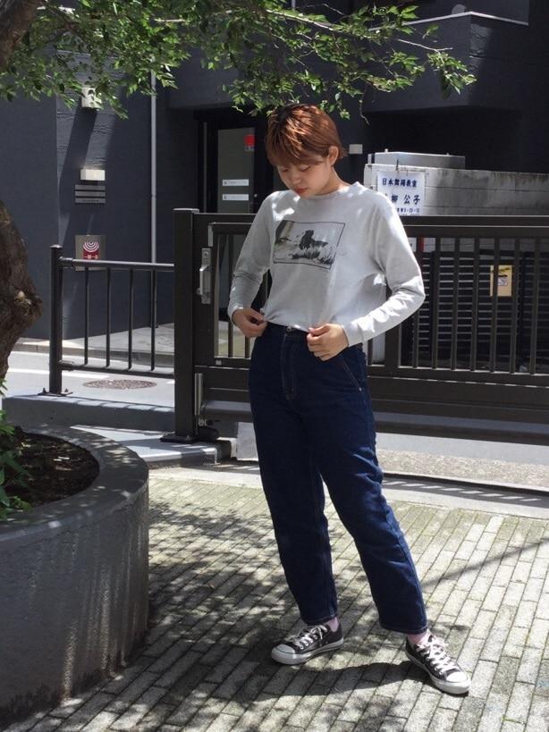 IamI HOLE 原宿路面 身長:167cm 2019.07.29