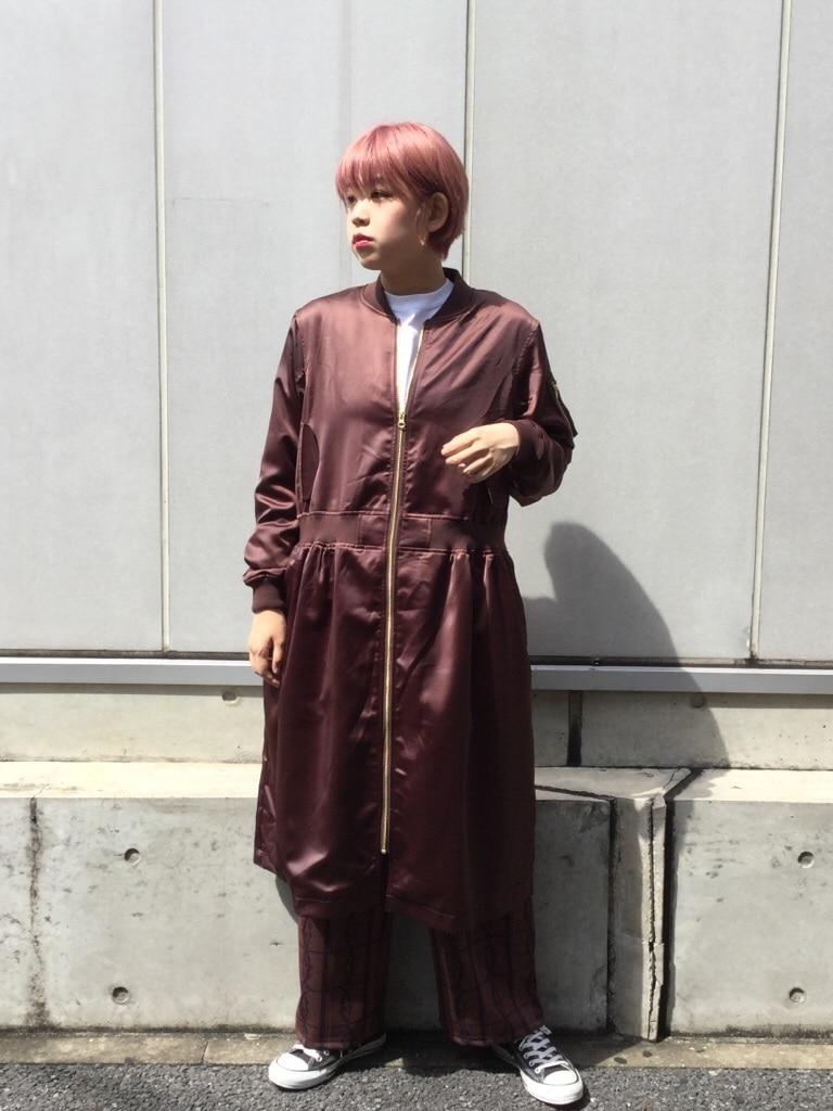 IamI HOLE 原宿路面 身長:167cm 2019.09.25