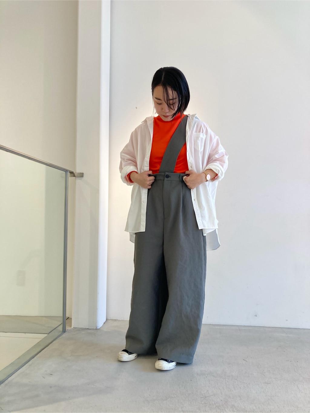 note et silence. 京都路面 身長:159cm 2020.09.03