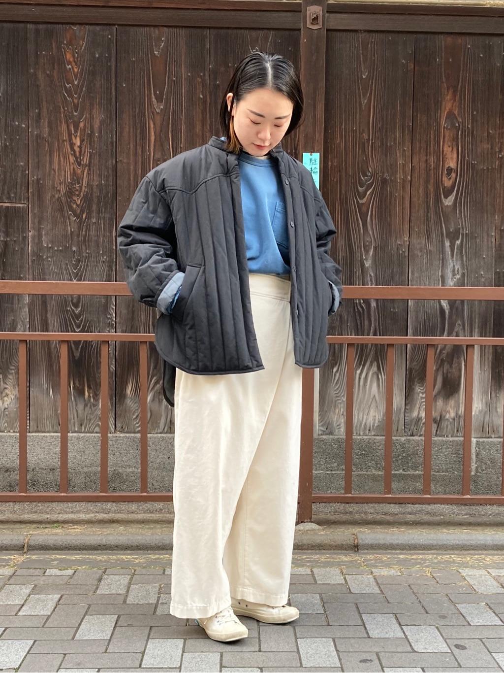 note et silence. 京都路面 身長:159cm 2020.11.11