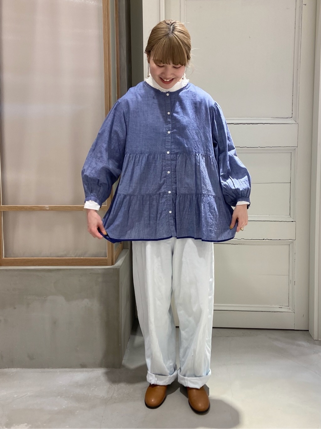 bulle de savon 渋谷スクランブルスクエア 身長:160cm 2021.03.13