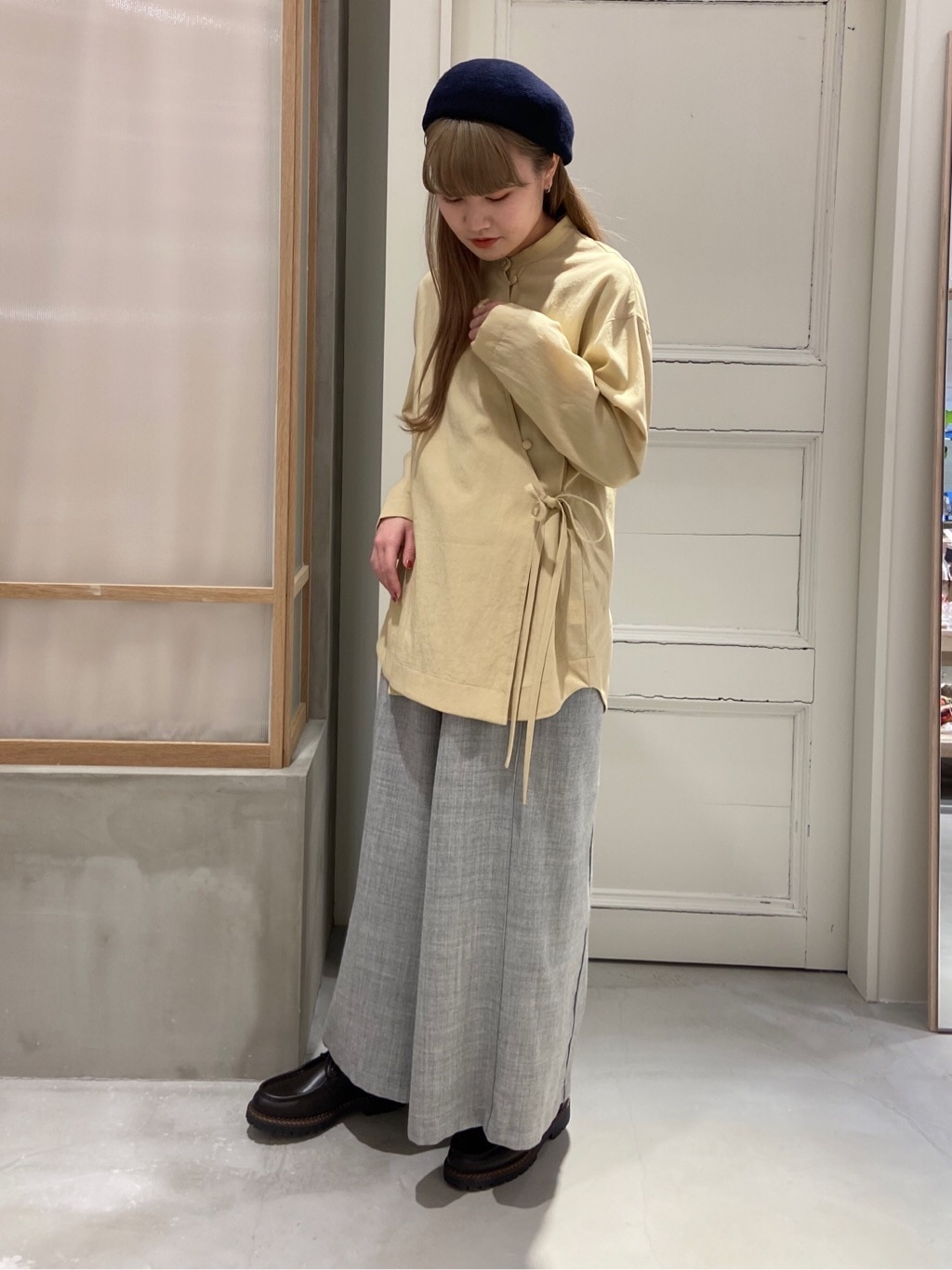 bulle de savon 渋谷スクランブルスクエア 身長:160cm 2020.12.16