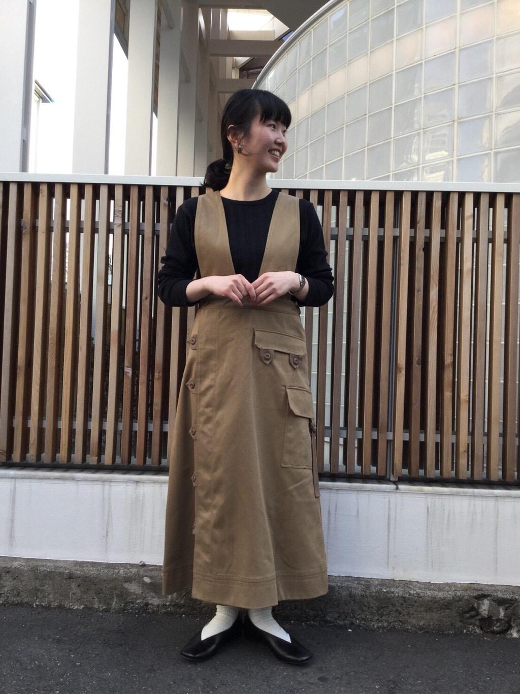l'atelier du savon 代官山路面 身長:157cm 2020.04.17
