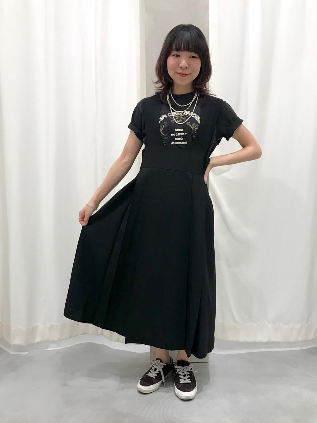 AMB SHOP PAR ICI CHILD WOMAN,PAR ICI ルミネ横浜 身長:154cm 2020.05.30