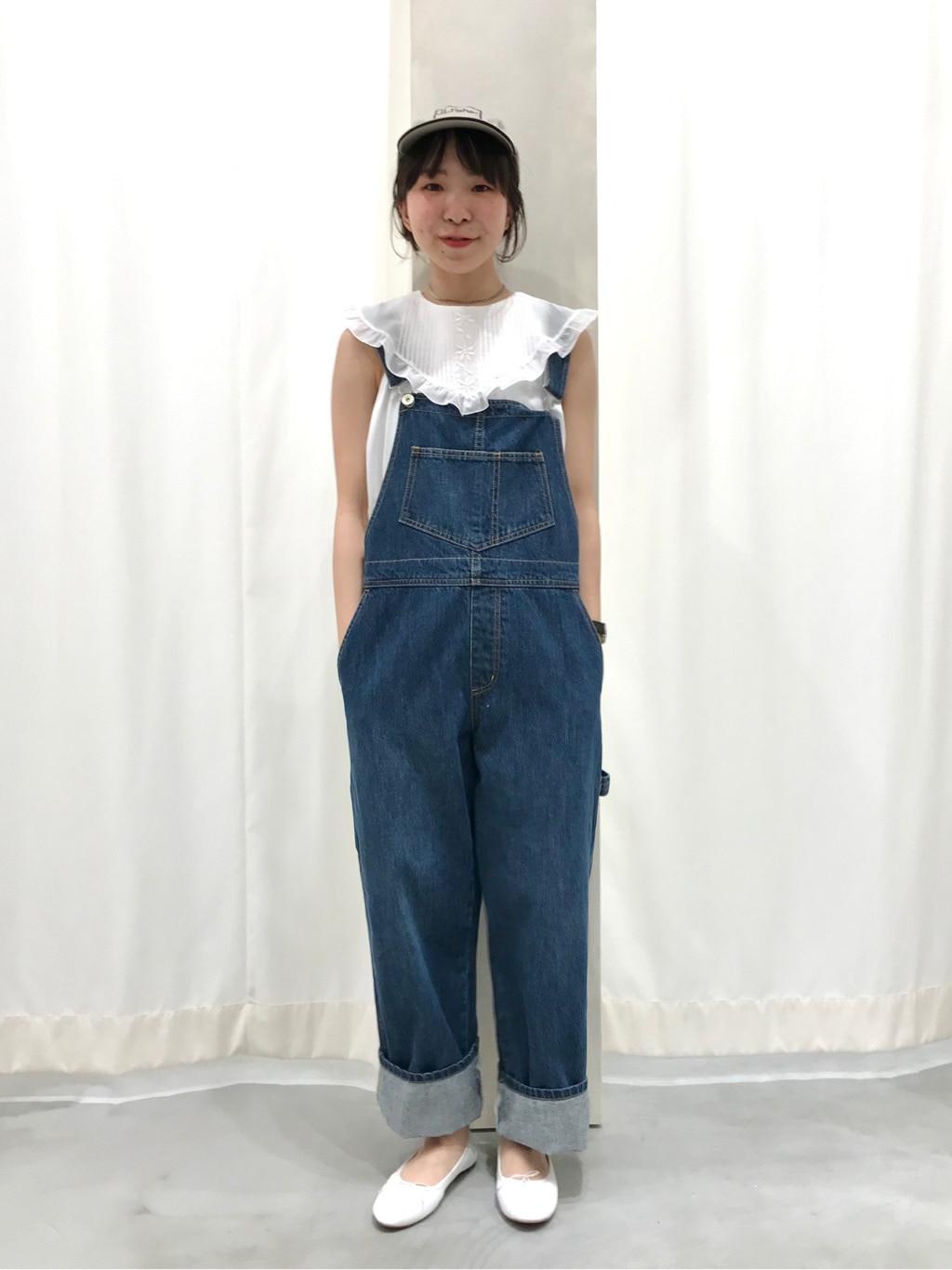 AMB SHOP PAR ICI CHILD WOMAN,PAR ICI ルミネ横浜 身長:154cm 2020.06.11