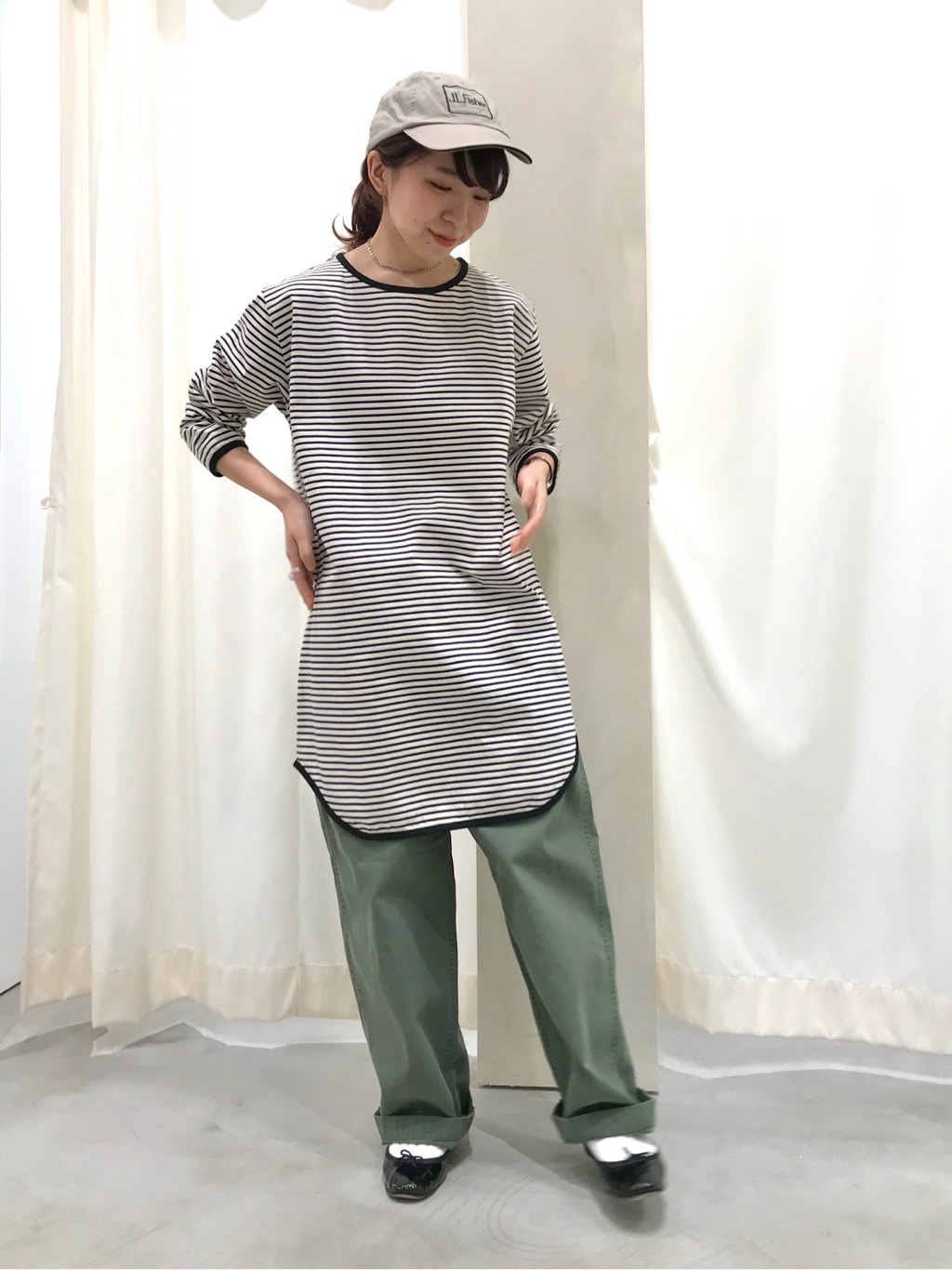 AMB SHOP PAR ICI CHILD WOMAN,PAR ICI ルミネ横浜 身長:154cm 2020.05.03
