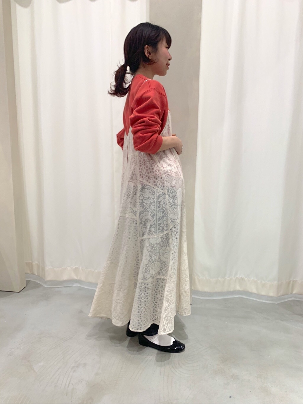 AMB SHOP PAR ICI CHILD WOMAN,PAR ICI ルミネ横浜 身長:154cm 2020.03.25