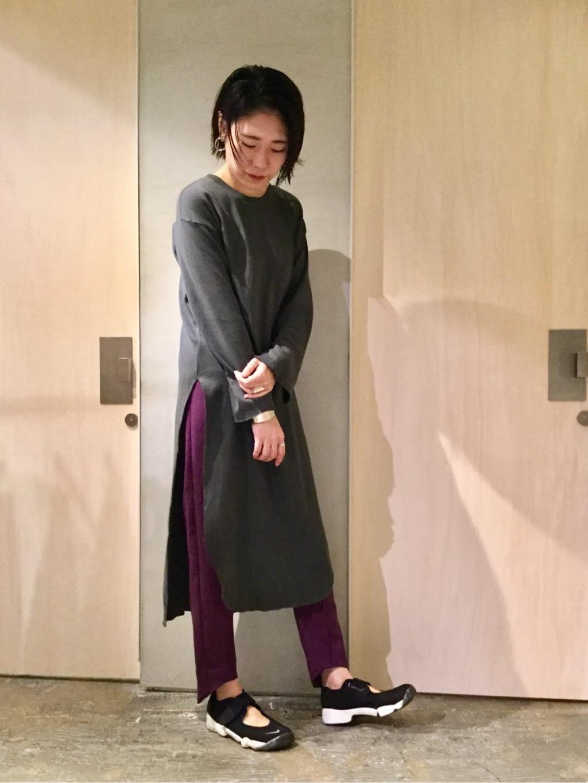 note et silence. ルミネ新宿 身長:169cm 2019.10.22